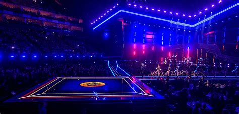 led floor faber add lustre to the brit awards with their led floor faber audiovisuals