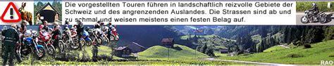 Wie Viele Motorradfahrer Gibt Es In Sterreich raonline motorrad schweiz alpen tour von landquart gr