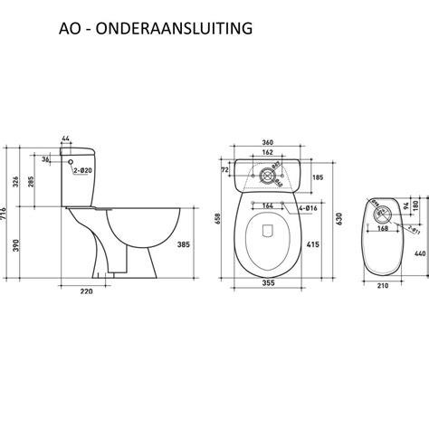 Afmetingen Staand Toilet by Toilet Toledo Duoblok Keramiek Megadump Tiel Megadump Tiel