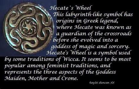 hecate symbolism hecate wheel my goddess hekate pinterest