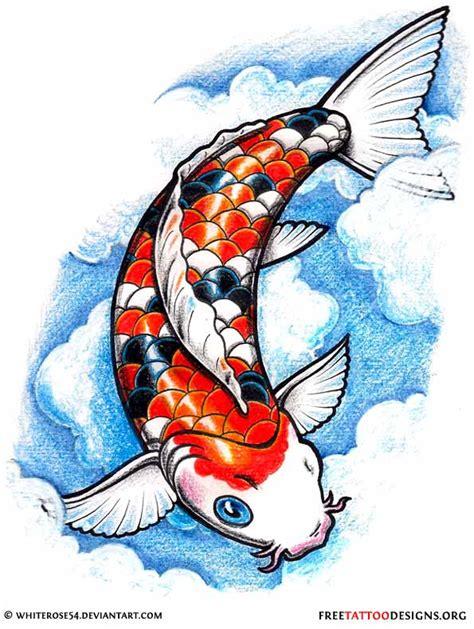 orange koi fish tattoo design 40 koi fish tattoos japanese and designs