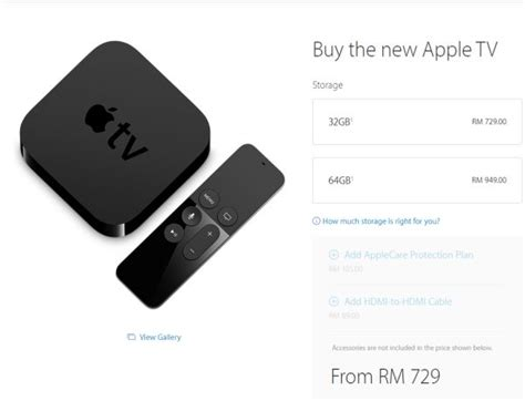 Apple Tv Malaysia you can now buy the new apple tv in malaysia hardwarezone my