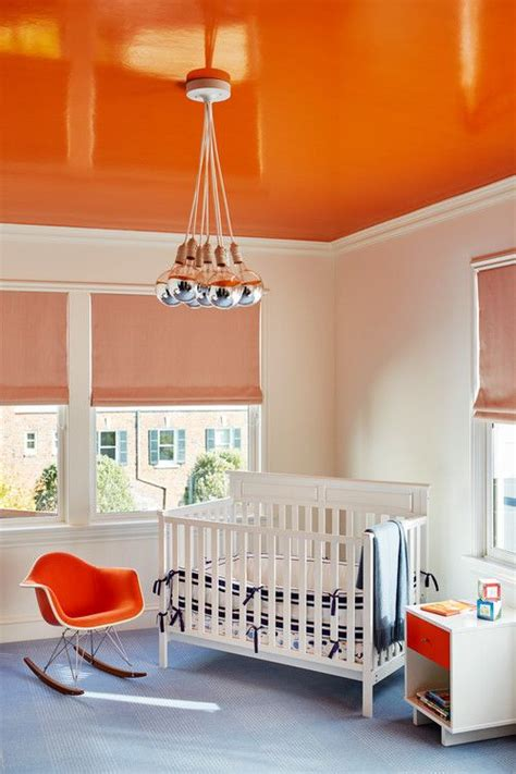 Nursery Ceiling Decor Picture Of Orange Nursery Ceiling