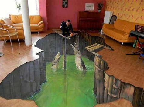 On Floor by 3d Floor Will Make Your Home Looks More Artistic