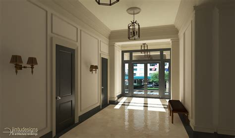 architectural residential  renderings