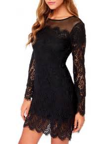 Galerry lace long sleeve dress