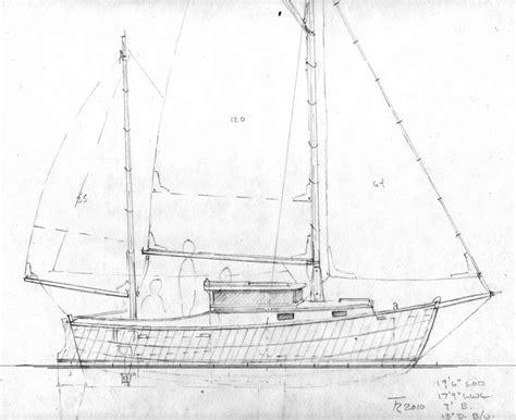 motor sailer boat plans pogy 19 6 quot motorsailer sail boats under 29 small boat