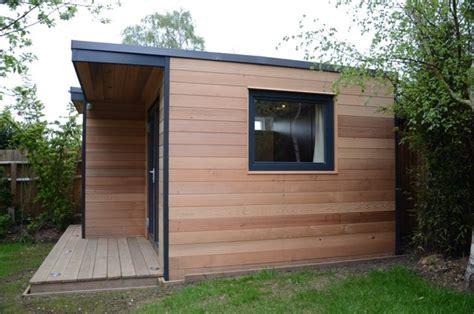 Houzz Wall Sconces Garden Office In Surrey Modern Home Office London