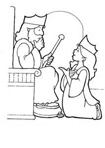 queen esther story coloring pages coloring pages