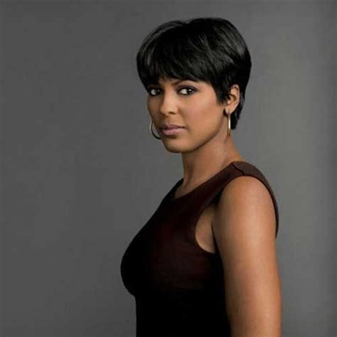 tamron hall hair style latest short haircuts for black women cute hair styles