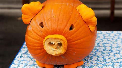 wacky weekend pumpkin carvings