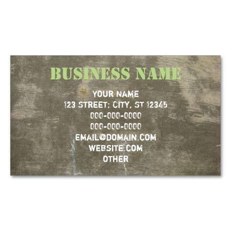 concrete business cards templates 2191 best images about construction business cards on