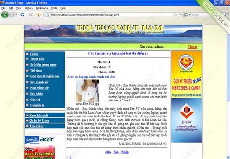 download layout web tin tuc source code website tin tức asp net b 225 o c 225 o