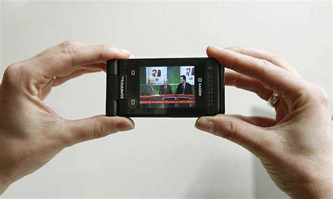 Tv Mobil Up mobile tv catching up with indian users rediff business