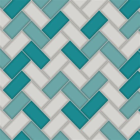 Holden decor chevron tile wallpaper 89301 teal greycut price wallpaper crewe
