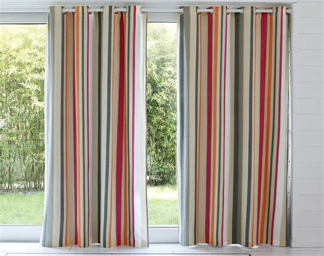 Rideaux Rayures by Rideaux Rayures Multicolores Becquet
