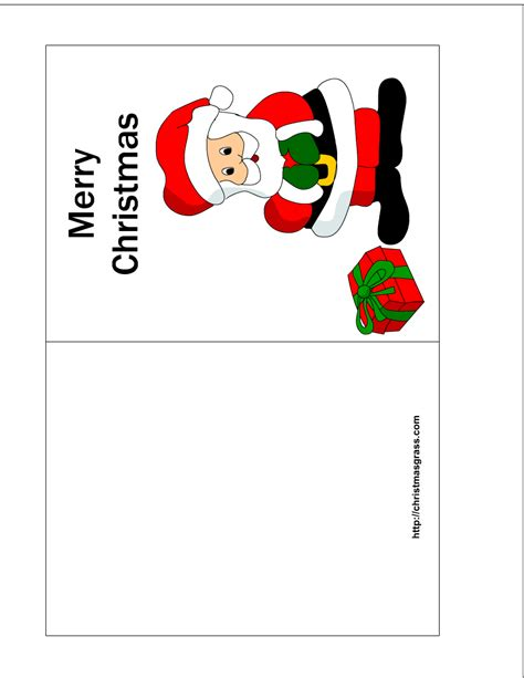 merry templates for cards printable card printable cards