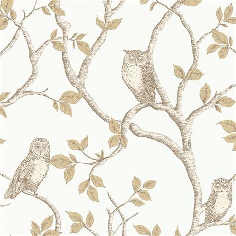 owl bedroom wallpaper fine decor woodland owls wallpaper natural cream gold