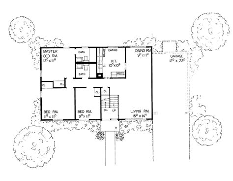 bi level floor plans house plans home plans floor plans and home building