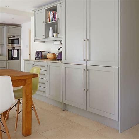 bespoke kitchen design ideas modern transitional kitchens mk designs grey shaker cabinetry kitchen decorating ideal home