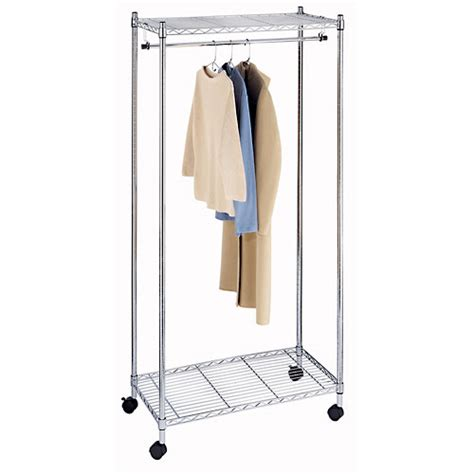 Walmart Clothes Rack whitmor supreme garment rack walmart