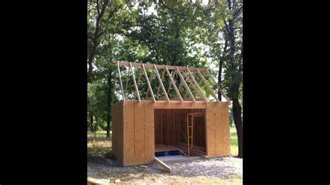 diy shed project 12x16