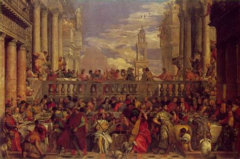 Wedding At Cana Venice by Webmuseum Veronese Paolo