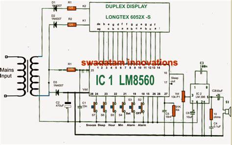 about circuit simple digital clock circuit explained