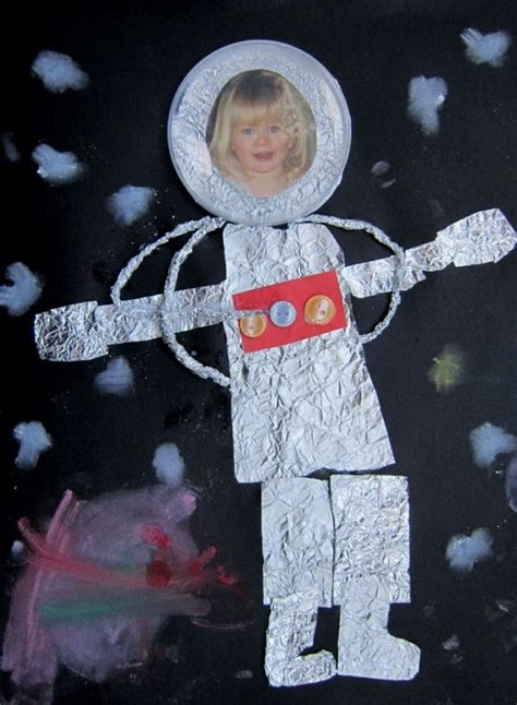 astronaut craft for astronaut paper plate craft pics about space