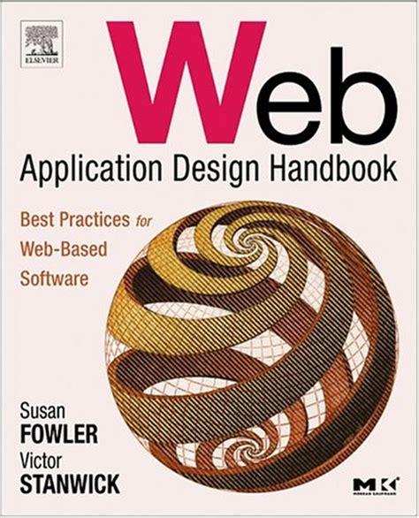 Web Application Design Handbook | web application design handbook best practices for web