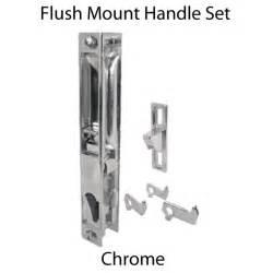 sliding glass door latches sliding glass door handle set chrome no pull c 1045