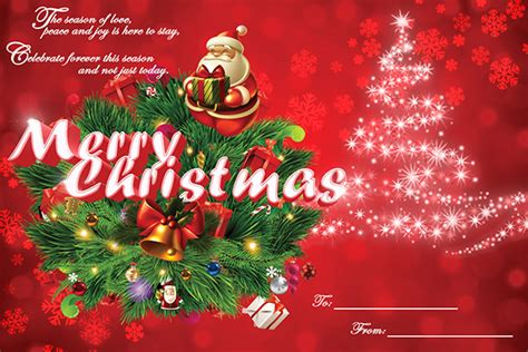 christmas card templates sample templates