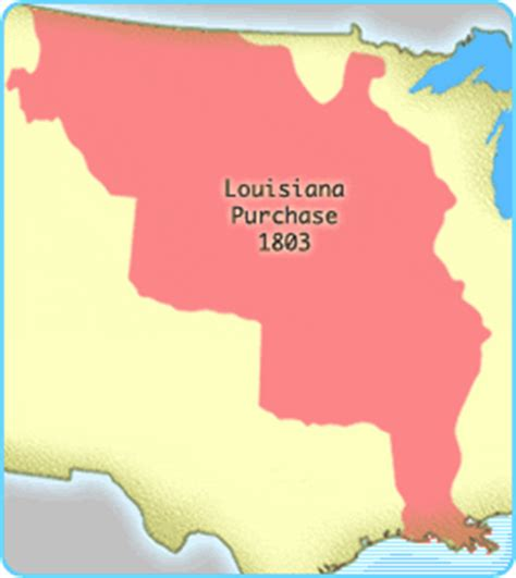 louisiana purchase interactive map interactives united states history map the nation expands