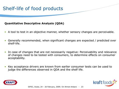 Shelf Testing For Food Products by Ppt Shelf Of Pre Packaged Food Products An Industry