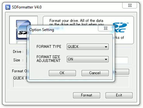 format video sd how to format pi sd cards using sd formatter