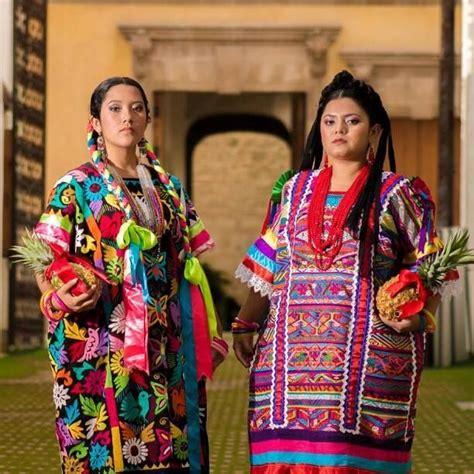 imagenes vestimenta maya mujeres un par de bellezas de oaxaca y que vestuario