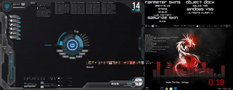 rainmeter themes for windows 8 1 download my rainmeter desktop by xr4nd0mx3m0x on deviantart