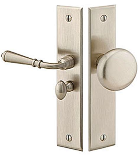 Screen Door Door Knobs by Emtek Products Inc 2291 Us10b Rh Emtek Rectangular
