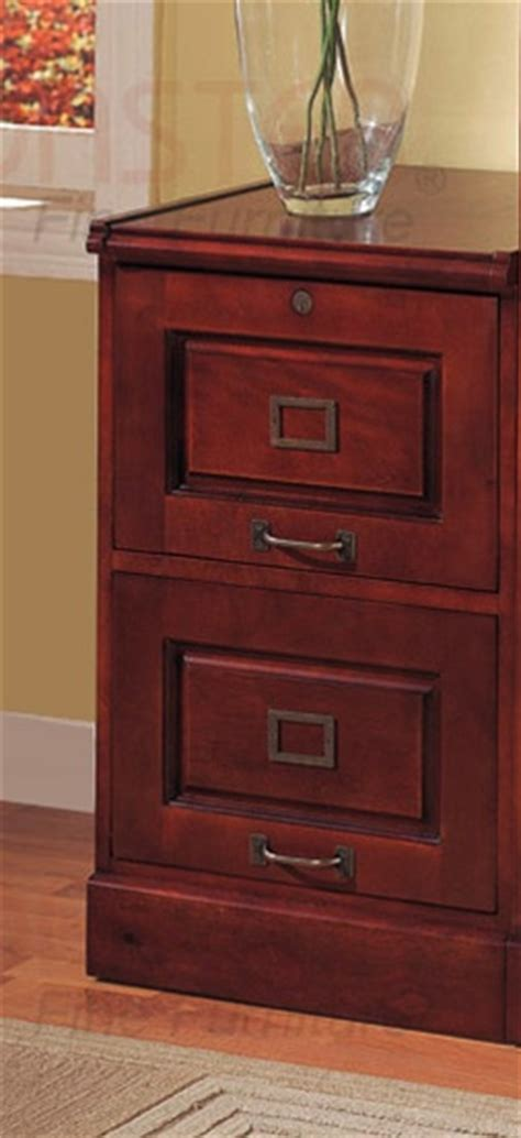 cherry finish 2 drawer file cabinet 2 drawer file cabinet in cherry finish by coaster 800304