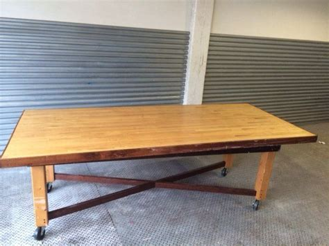 bowling dining table 12 best dining tables salvaged bowling wood images