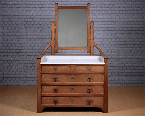 craft table with drawers arts crafts dressing table with drawers c 1890