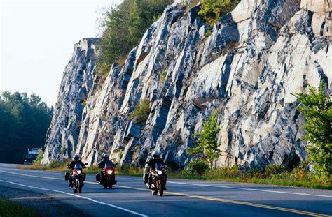Lake Superior Circle Tour Canadian Shield Motorcycle.com