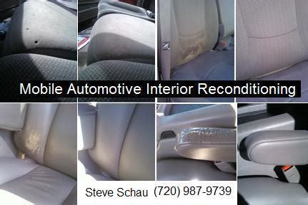 mobile auto upholstery pictures for mobile automotive interior reconditioning in