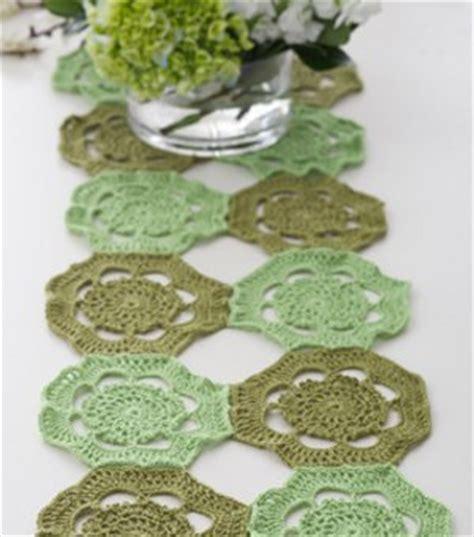 crochet table runner patterns beginners patterns hub