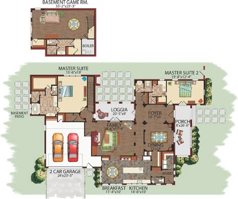 two story master suite 2 story split master suites latin family floor plans