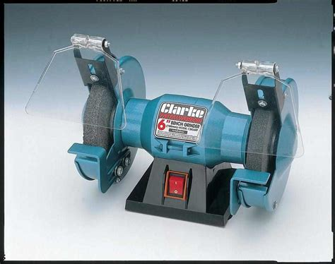 clarke bench grinder clarke 6 quot bench grinder clarke cbg6rp