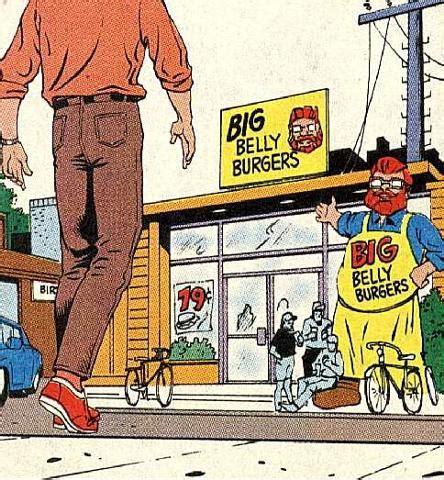 Big Belly Burger nuevo p 243 ster de the flash los easter eggs y lecturas recomendadas bullpen