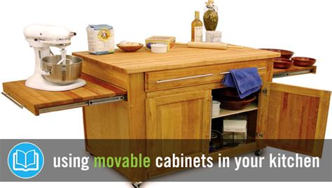 kitchen movable cabinets movable kitchen cabinets the pros cons you need to know