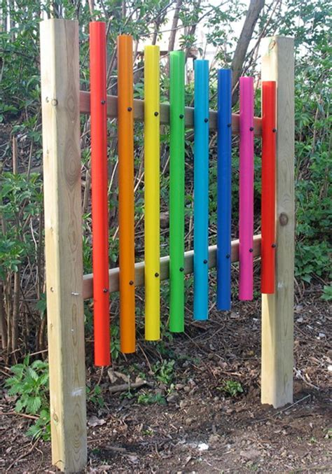 sensory garden musical instruments esl music pinterest