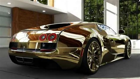 golden super cars bugatti veyron super sport gold inside look forza